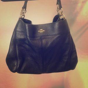 Medium to large Coach purse